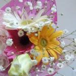母の日のプレゼントは花とエステ券にしました!