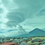変な雲台風